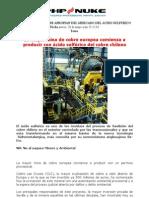 Comite de Defensa Del Cobre - Transnacionales Se Apropian Del Mercado Del Acido Sulfurico