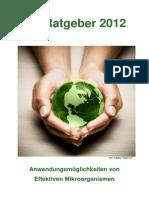 Em Ratgeber 2012 Effektive Mikroorganismen