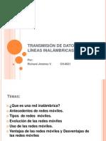 Transmision de datos sobre lineas inalambricas