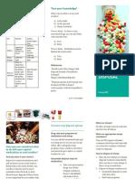 Medical Waste Disposal Brochure