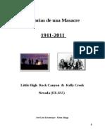 Masacres en Nevada 1911 - Little High Rock Canyon & Kelly Creek