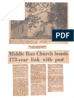 Middle Run Baptist Church