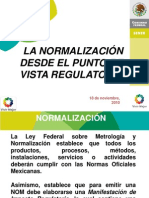 Normalizacion de Instalaciones Electricas