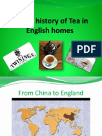 A Brief History of Tea in English Homes
