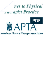 Guidelines to Physical Therapist Practice (APTA)