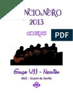 CANCIONERO_2013_acordes para grupos de jóvenes