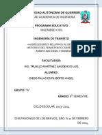 Antecedentes Relativos Al Desarrollo Historico Del Transporte Carretero en El Ámbito Nacional y Mundial