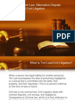 tort law civil litigation and adr
