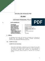Defensa Personal Por Competencias.Programa