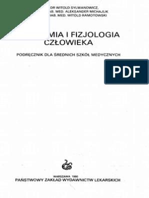 Anatomia I Fizjologia Czlowieka Podrecznik Dla Srednich Szkol