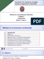 METODOS DE CARACTERIZACION DE MATERIALES
