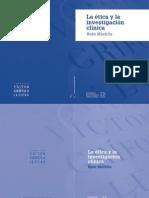 La Etica y La Investigacion Clinica