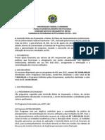 Edital PDI 2015 UFF
