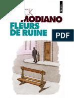 Patrick Modiano - Fleurs de Ruine - 1991