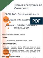 Exposición De Cristales, Minerales y Fosiles