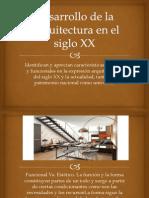 Desarrollo de la Arquitectura en el siglo XX.pptx