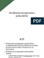 Curs 6 Modelarea Conceptuala a Prelucrarilor