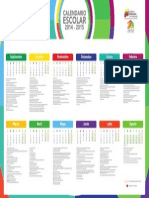 Calendario Escolar  de Venezuela 2014-2015