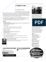 Massachusetts CLE 2014 Investigative Research MCLE Seminar Brochure