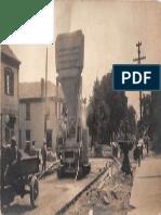 Paving Main Street Waynesville 1926
