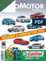 Revista Puro Motor 45 - AUTOS Sedanes y Compactos 2015