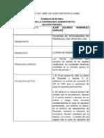 Analisis de Sentencia 6601 HECHO DEL PRINCIPE