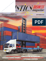 Logistics Business Magazine September 2014