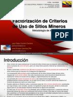 5. JPFerreira_FPATRIMONIO INDUSTRIAL MINERO Y DESARROLLO LOCALactorizacionCriteriosSitiosMineros
