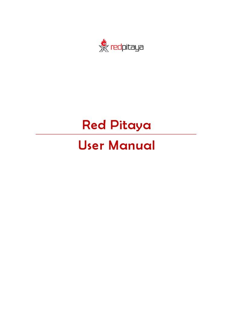 Red Pitaya   Secure Shell   Secure Digital
