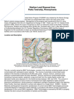 Parks Township, Pennsylvania, Shallow Land Disposal Area