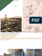 """Procesos de """"Patrimonialización"""""""