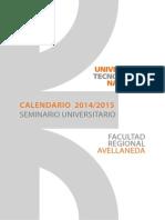 UTN FRA - Calendario Curso