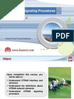 07-WCDMA UTRAN Signaling Procedure.ppt