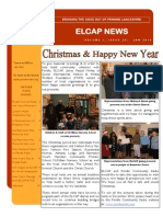 ELCAP E-Newsletter Issue 29 - Jan 2015