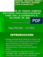 JORNADAS DE PATRIMONIO INDUSTRIAL MINERO Y DESARROLLO LOCAL, GUAYAQUIL, ECUADOR