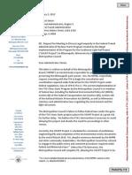 Park Board Letter to FTA (Pre-Approval), 1.5.15