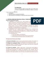Resumen Derecho Procesal Penal 2013