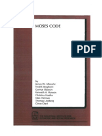 1989.Forskningsrapport Nr 36.J.W.albrecht.moseS Code Webb