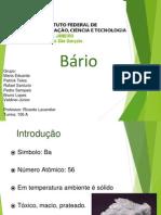 Bário - Quali Completo