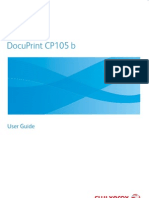 DocuPrint CP105 b User Guide English