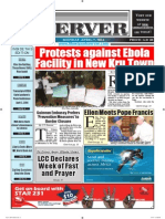 Liberian Daily Observer 04/07/2014
