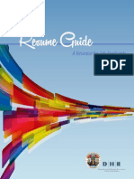 LAC Resume Guide