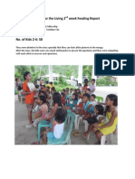 Feeding Program Report