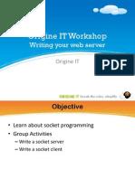 Origine IT Workshop.3.Socket_programming