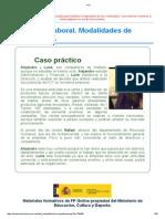 Tema 1. Modalidades de Contratación