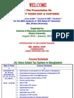 Taxation Course