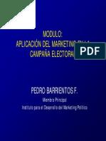 A Plica c i on Marketing Campanas Electoral Es