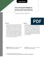Aspectos Neuropsicologicos de Los Trastornos Del Movimiento