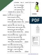 Uke_L.3. Clementine in C_C,G7 cct  .pdf