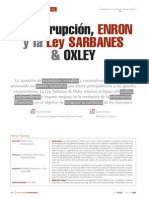 Caso Enron y La Ley Sarbanes Oxley4